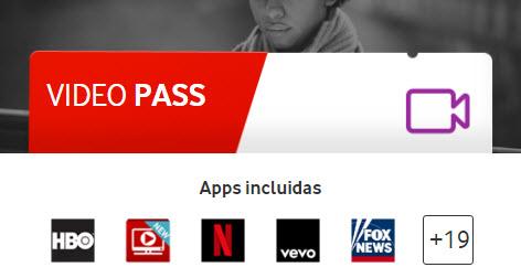vodafone video pass
