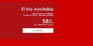 tarifa trio inimitable pepephone