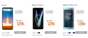 moviles outlet simyo
