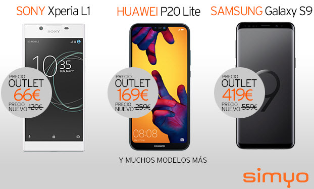 outlet simyo moviles