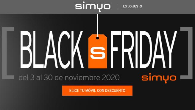 black friday simyo ofertas