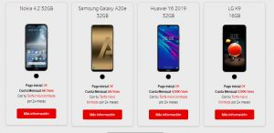 vodafone black friday terminales moviles