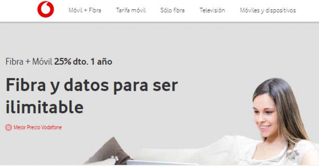 mejor tarifa fibra y movil España
